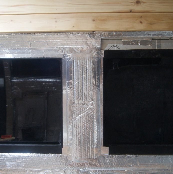 DIY camper insulation with air gap